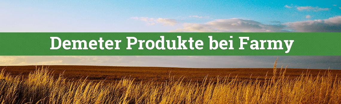 Demeter Produkte bei Farmy