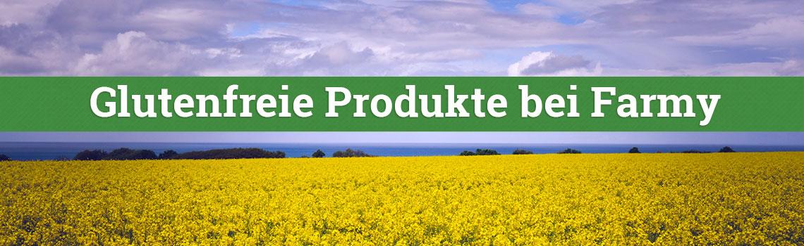 Glutenfreie Produkte bei Farmy