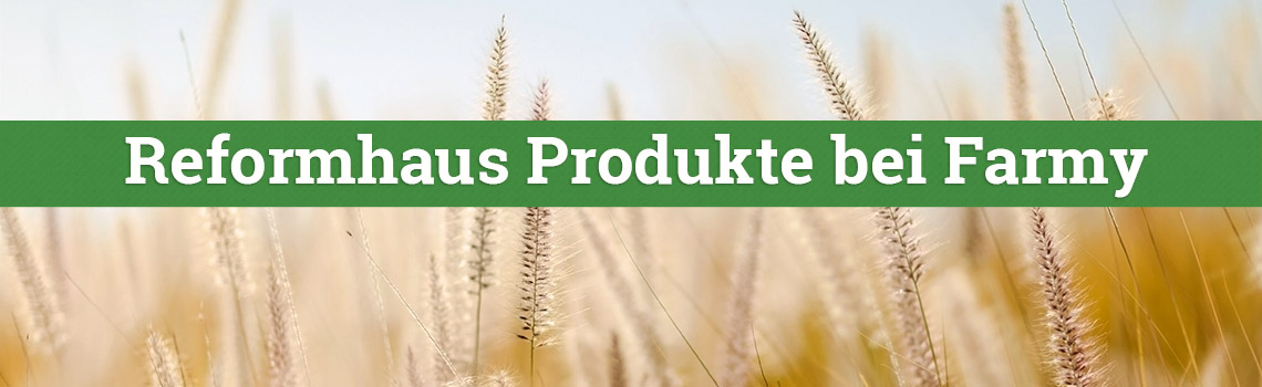 Reformhaus Produkte bei Farmy